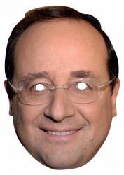 Déguisement : Masque de François Hollande