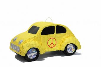 pinata voiture hippie