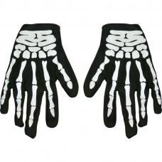 gants de squelette adulte