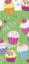 nappe anniversaire cupcake