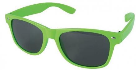 lunettes saint patrick plastique vert fluo