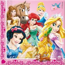 serviettes anniversaire princesses