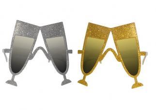 lunettes flute or et argent