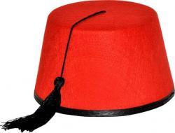 Chapeau Fez Rouge pas cher