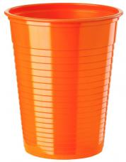 gobelets plastique orange