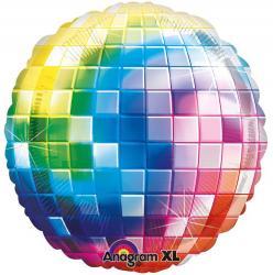 Ballon multicolore disco fever pas cher
