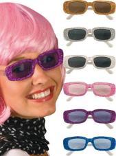 lunettes pailletees