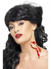 prothese morsure de vampire halloween