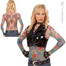 tee-shirt tatouage ailes d ange dame
