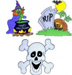 Halloween : stickers assortis