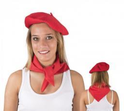 a45621d5fa92 Foulard Basque rouge pour féria
