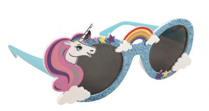 lunettes licorne et arc en ciel