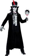 costume vaudou noir