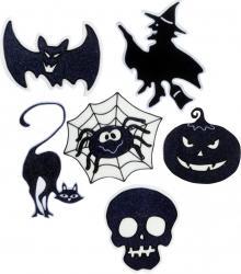 Halloween : décors électrostatiques