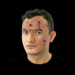 Prothèse latex plaie par balles sanglantes pas cher
