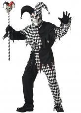 deguisement joker malefique noir