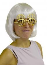 lunettes dollar dorées