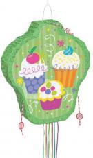 pinata anniversaire cupcake