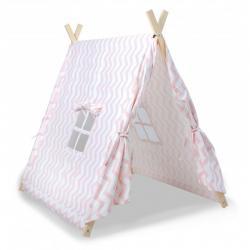 Tente canadienne rose pour petite fille