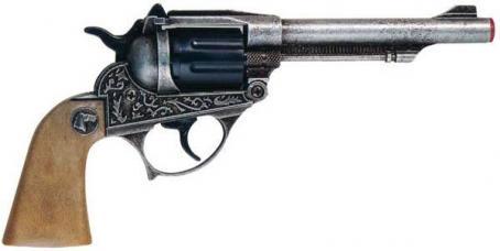 pistolet cowboy metal