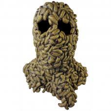 masque tete larvee