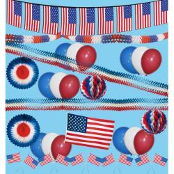 Kit décoration USA pas cher