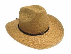 Chapeau de cowboy en paille pas cher