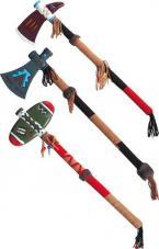 tomahawk indien decore