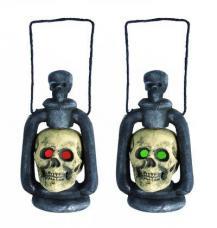 lanterne tête de mort pour halloween