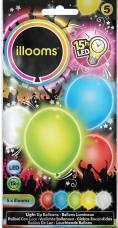 ballons lumineux led multicolors