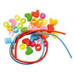 Sachet de perles avec élastique pas cher