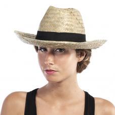 chapeau paille naturel adulte pas cher