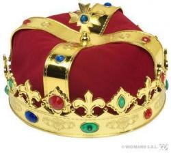 Couronne de roi pas cher avec pierres