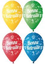 Déguisements Sachet de Ballons Bonne Retraite