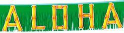 Guirlande hawaïenne ALOHA pas cher