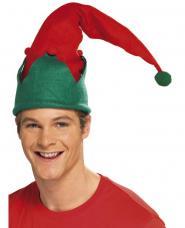 bonnet elfe avec pompon