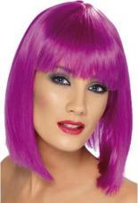 perruque glam violet