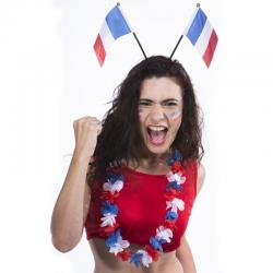 Serre tête drapeau Français pas cher
