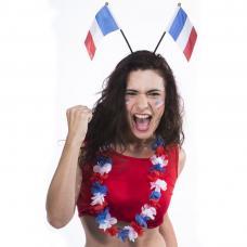 serre tete drapeau français