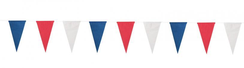 guirlande tricolore en papier