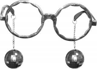 lunettes disco boules a facettes
