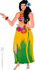 decoration danseuse hawaienne