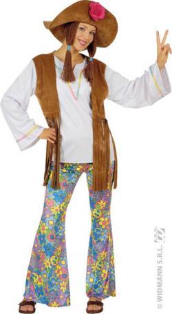 Déguisement Woodstock Femme