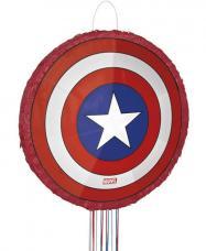 pinata bouclier captain america