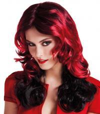 perruque fureur rouge