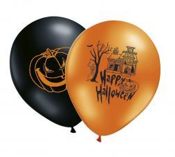 sachet de 8 ballons halloween