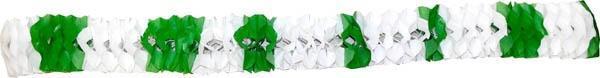 guirlande saint patrick verte et blanche