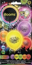 ballons joyeuses fetes lumineux (LED)