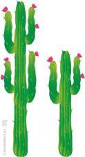set de 2 decors cactus