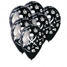 sachet de 10 ballons pirate
